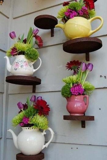 Оригинальные горшки для цветов