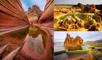 Утёсы из «Аватара», каменная волна и другие неземные ландшафты, которые можно увидеть на нашей планете
