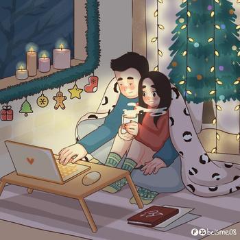 Вьетнамская художница рисует иллюстрации, показывающие, что такое отношения