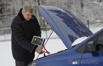 Как завести машину на остатках энергии разряженного АКБ