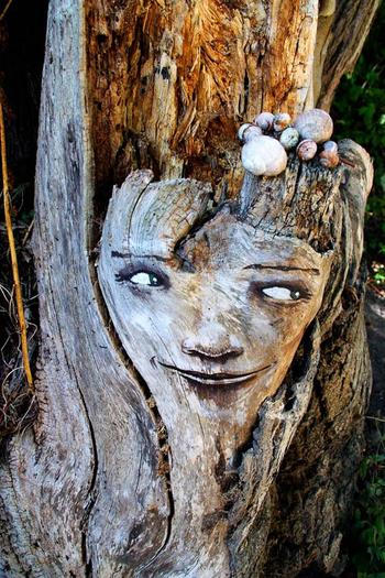 Выражения лиц в лесу