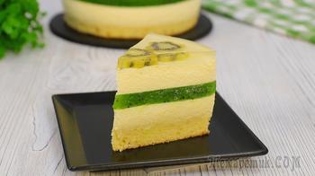 Муссовый торт с киви (Лёгкий, воздушный с безупречным вкусом!)
