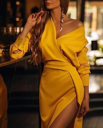 Стильные платья с цельнокроеным рукавом