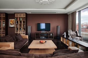 Современная квартира в центре Москвы