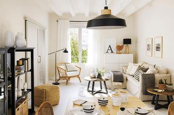 Маленькая, но функциональная квартира в скандинавском стиле в Испании (50 кв. м)