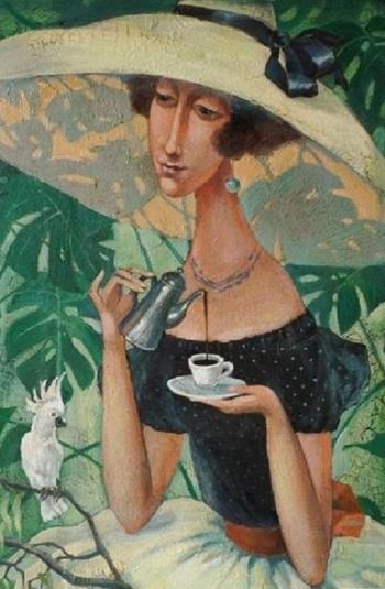 """Художница Кира Панина. """"Взгляд женщины на женщину"""""""