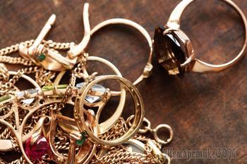 Как быстро и эффективно почистить золото в домашних условиях до блеска