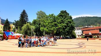 Горные курорты Болгарии 9 Чепеларе - олимпийская гордость Болгарии