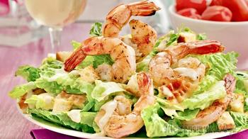Цезарь с креветками - тот самый салат, рецепт, который вы искали