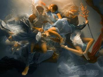 Уникальные подводные фотографии в стиле Барокко Christy Rogers
