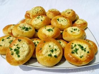 Манка с брынзой? Вкусно! Закусочные пирожки