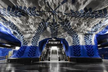 Прогулка по красивейшим станциям европейского метро