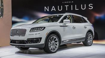 Lincoln Nautilus 2018 – модернизированный и сменивший имя Lincoln MKX