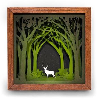 Многослойные деревянные картины
