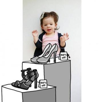 Креативная мама превращает фотографии дочери в невероятные истории