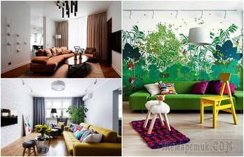 18 гостиных, которые покоряют своим утонченным стилем и современным дизайном