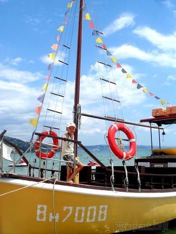 Болгарское побережье Черного моря 14. Комплекс «Албена» - развлечения, аттракционы, сувениры