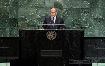 """Лавров завершил программу на ГА ООН: """"невизы"""" США, беседа с Зеленским и Грузия"""