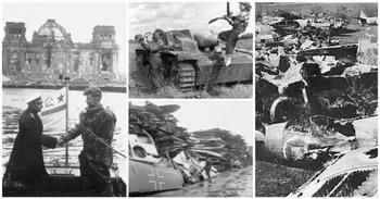 Как убирали поля сражений после Второй мировой войны