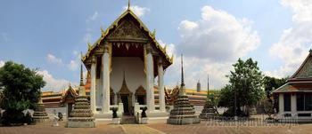 Таиланд 2019. 11. Бангкок королевский. Храмы - храм лежащего Будды
