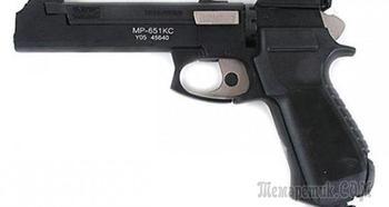 Байкал МР-651 КС — спортивный газобаллоный пистолет, превращаемый в карабин
