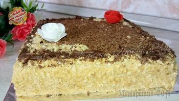 Торт «Микадо» - совершенство вкуса.