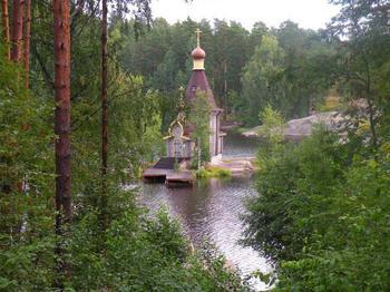Храм Андрея Первозванного на Вуоксе, история места