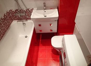 Удачные примеры дизайна ванной комнаты площадью 4 кв. метра