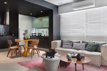 Современная квартира для молодой семьи в Рио-де-Жанейро
