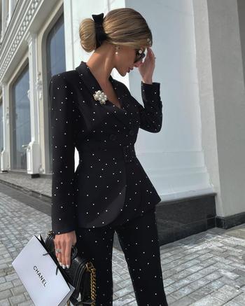 Как и с чем носить черные брюки: 25 роскошных и модных идей