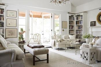 Безупречная классика в интерьере апартаментов в Беверли Хиллз