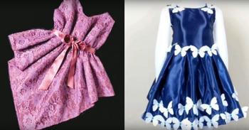 Простые платья без выкройки