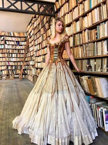 Оригинальные платья от Сильви Фэкон