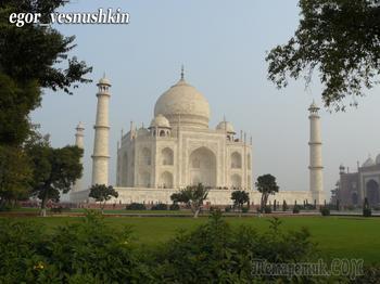 Шедевры мировой архитектуры... Тадж-Махал