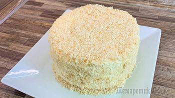 Торт из 4-х ингредиентов
