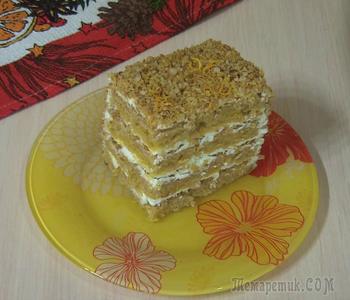Ароматный тыквенный торт! Воздушный бисквит и нежный крем!