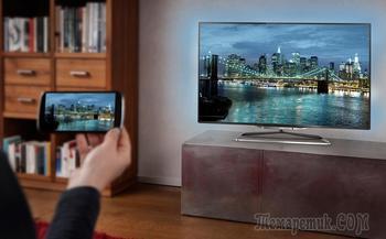 Как посмотреть фильм с телефона на телевизоре