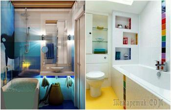 17 реальных примеров, которые заставят взглянуть на крохотную ванную в «хрущевке» под другим углом