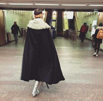 Неожиданные чудаки в метро