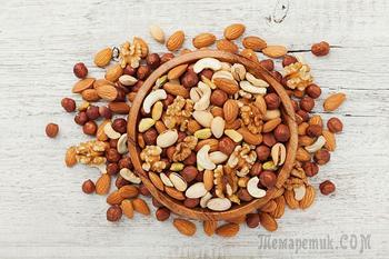 10 полезных видов орехов