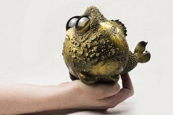 Невероятные подводные существа от Katyushka Art Dolls