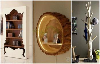 Мебель из натурального дерева своими руками