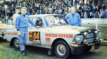Победы советских гонщиков в международных ралли