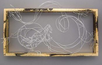 Невероятные скульптуры из проволоки от Элисон Бринн Росс