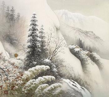 Японские мотивы в пейзажной живописи Коукеи Кодзима