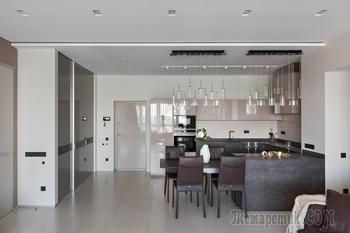 Четырехкомнатная квартира, интерьер которой пытались создать три дизайнера