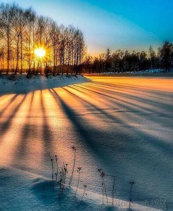 Летит снежинок нежность (Cтих)