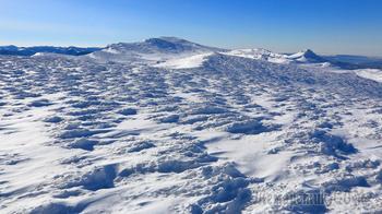 Зима на Чатыр-Даге. Крым