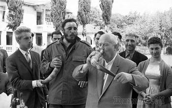 Зачем Фидель Кастро приезжал в СССР в 1963 году, и что он не мог простить Хрущёву