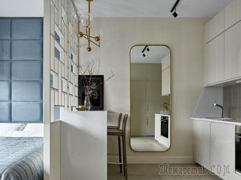 Квартира в Москве по проекту студии SODA, 28 м²
